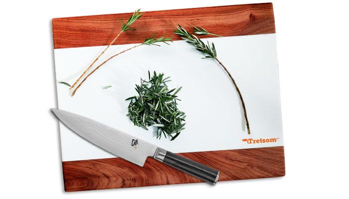 Tretsom square cutting board
